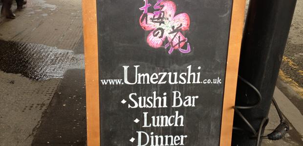 Stunning Sushi From UmeZushi! , Manchester