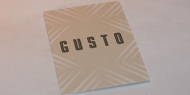 Gusto Manchester – Preview