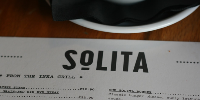 The New Menu At Solita, And Which Is Best: NQ or Didsbury?