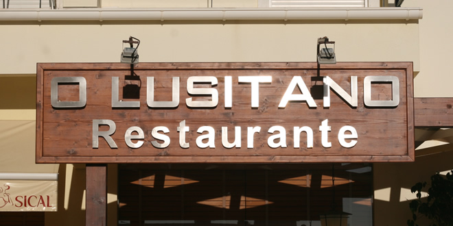 Back To O Lusitano, Albufeira, Algarve, Portugal